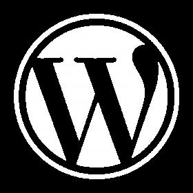 WordPress_white_logo